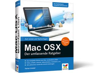 Cover von Mac OS X Mountain Lion