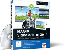 Cover von MAGIX Video deluxe 2014