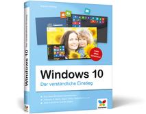 Cover Windows 10 - Der verständliche Einstieg
