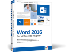Cover Word 2016 - Der umfassende Ratgeber