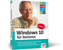 Cover von Windows 10 für Senioren -