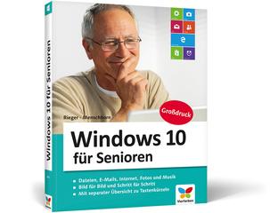Cover von Windows 10 für Senioren