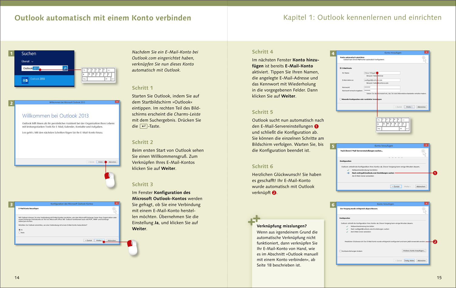 Outlook kennenlernen